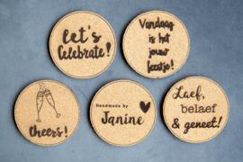 Handmade by Janine - Onderzetters