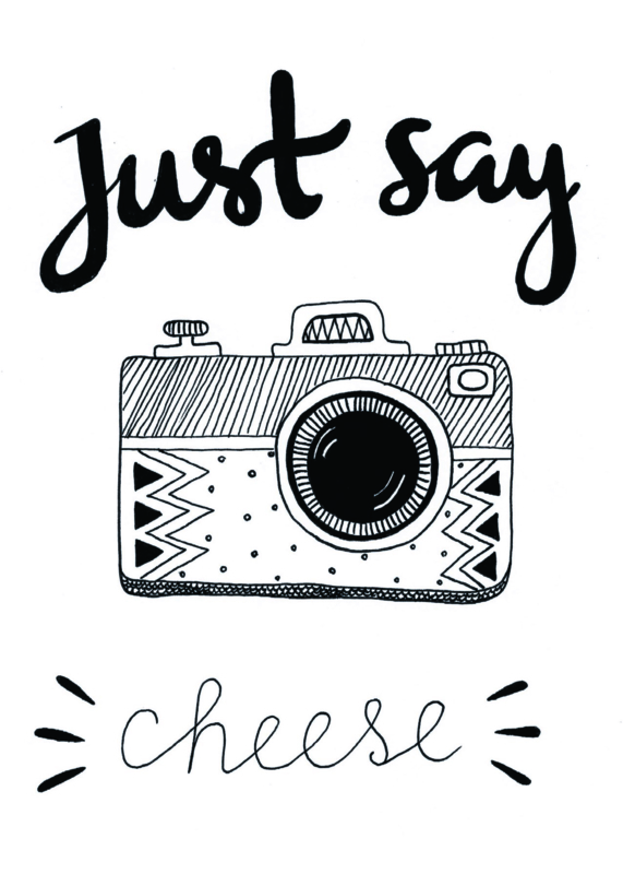 Poster - Just say cheese