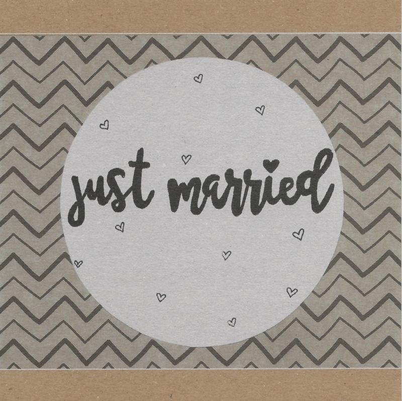 Kaart - Just married