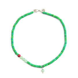Ketting Green Wide Awake, aventurijn