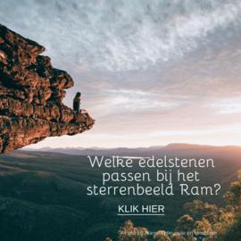 Sterrenbeeld RAM - 21 maart t/m 20 april - welke edelsteen past bij jou?