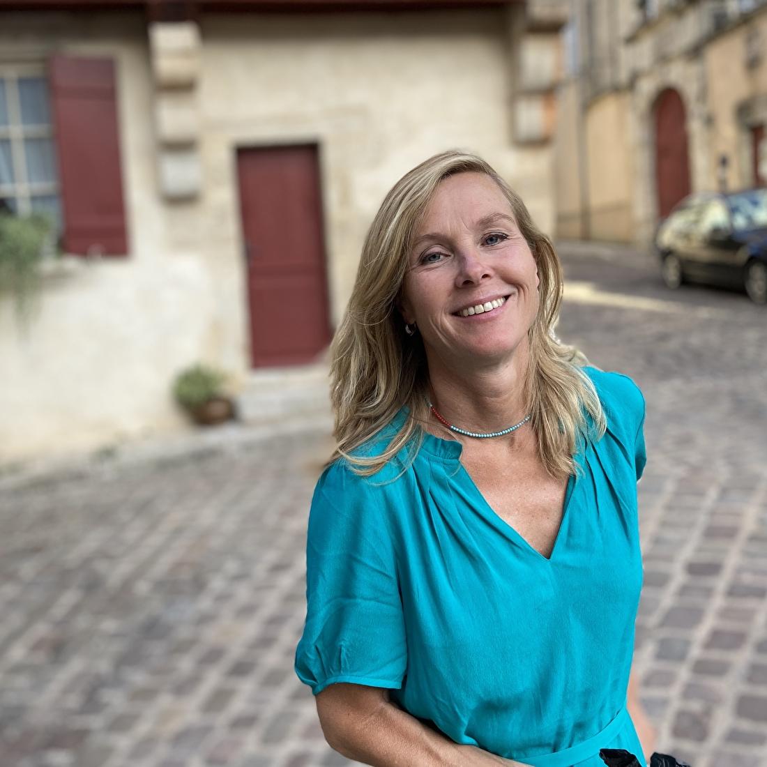 Jacqueline Kip, eigenaar en ontwerper van Kip Design