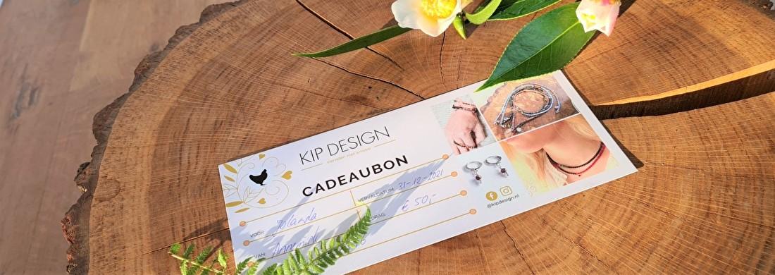 De Kip Design cadeaubon, een liefdevolle verrassing met een verhaal