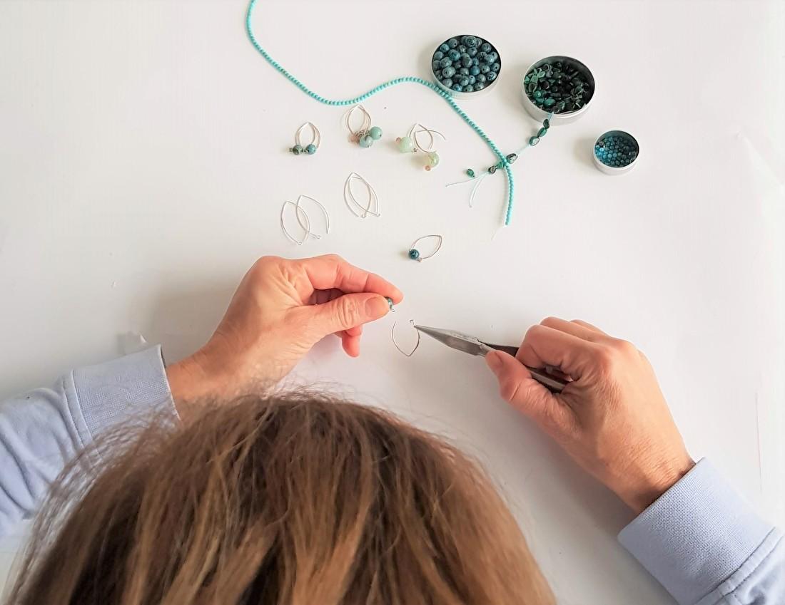 Handgemaakt in Amersfoort, sieraden van Kip Design