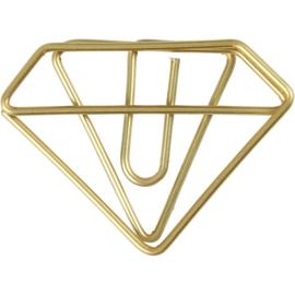 Paperclip | DIAMANT | Goud