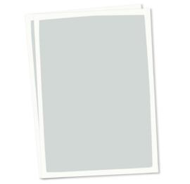 Blanco A6 postkaart blauw grijze achtergrond