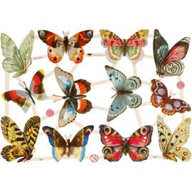 Poezieplaatjes Vintage vlinders