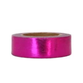 Washi tape glimmend roze
