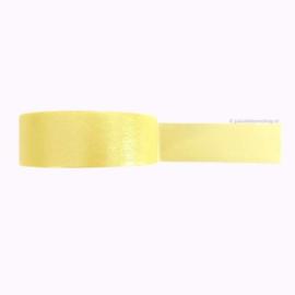 Egaal washi tape pastel geel | 5mtr