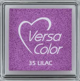 Lila stempelkussen versacolor klein | 35 LILAC