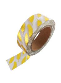 Washi tape | Gouden veren