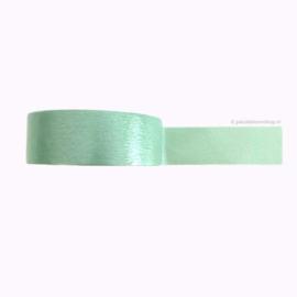 Egaal washi tape pastel groen | 5mtr