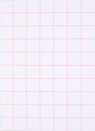 DIY zelf een kaart maken, Grid ruit A6 DIK