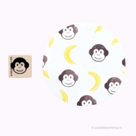 Stempel aap hoofdje