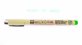Fineliner Micron | 05 | Fris groen