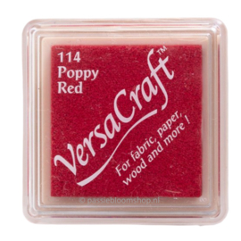 Stempelkussen Versacraft | ROOD | Poppy Red