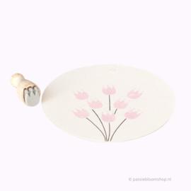 Mini stempel S | BLOEMMETJE | tulpje
