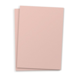 Blanco A6 postkaart blush rosé