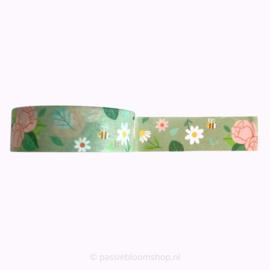 Washi tape lente bloesem