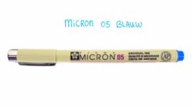 Fineliner Micron | 05 | Blauw