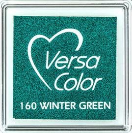 Versacolor |  160 WINTER GREEN | Groen stempelkussen