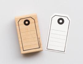 Etiket stempel label