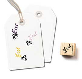Takjes stempel duo | 2406 | Cats on appletrees