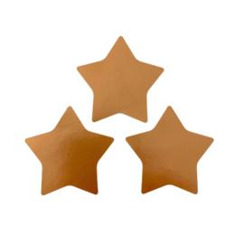 Sluitstickers koper sterren