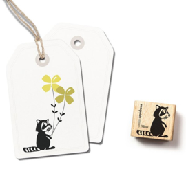 Wasbeer stempel Mats | 2423 | Cats on Appletrees