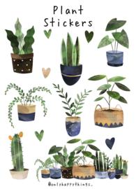 Stickers kamerplanten