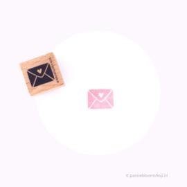 Stempel Hout | Post Envelopje