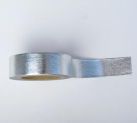 Washi tape | Egaal zilver