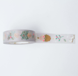 Washi tape | Pastel kerst figuren