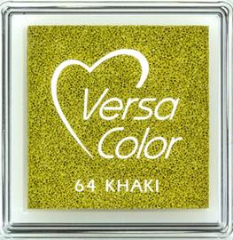 Versacolor |  64 KHAKI  | Groen stempelkussen