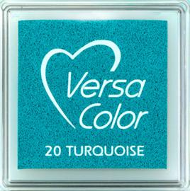 Versacolor |  20 TURQUOISE  | Blauw/groen stempelkussen