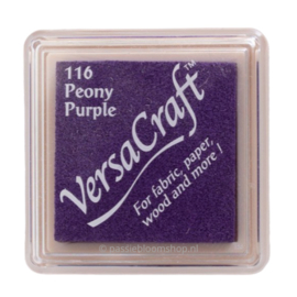 Versacraft Peony Purple paars stempelkussen 116