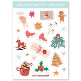 Stickers kerst buitenleven