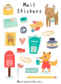 Stickers post thema