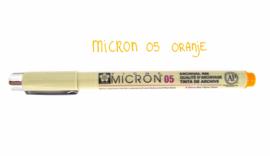 Fineliner Micron | 05 | Oranje