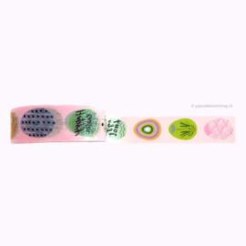 Washi tape paaseieren roze