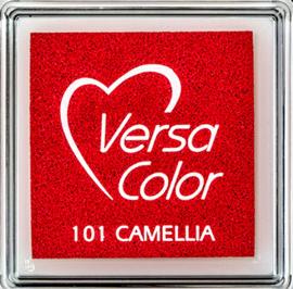 Versacolor |  101 CAMELLIA  | Rood stempelkussen