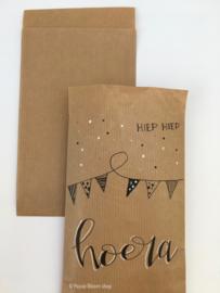 Cadeauzakjes Kraft papier klein 10x16