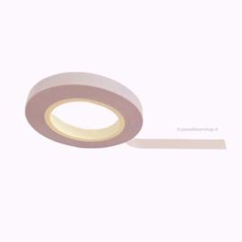 Dun washi tape egaal pastel lila