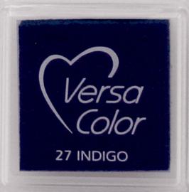 Versacolor indigo blauw stempelkussen 27