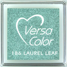 Versacolor |  186 LAUREL LEAF  | Pastel groen stempelkussen