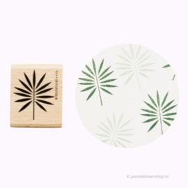 Stempel tropisch palmblad
