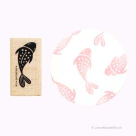 Stempel Japanse Koi karper vis