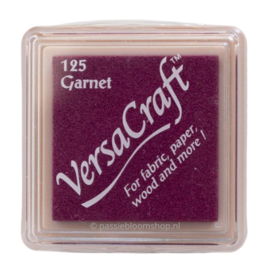 Stempelkussen Versacraft | PAARS | Garnet