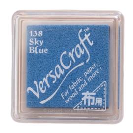 Stempelkussen Versacraft | BLAUW | Sky Blue