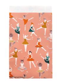 Cadeauzakjes ballerina danseres 12 x 19